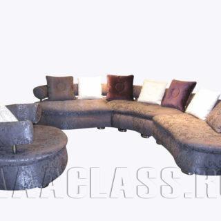 Трехсекционный диван Искья