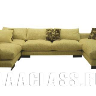 П-образный диван Риальто на заказ по индивидуальным проектам