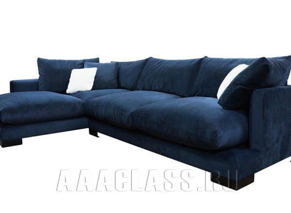 мягкая мебель: угловой диван Риальто на заказ по индивидуальному проекту