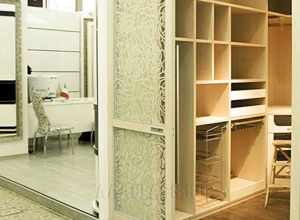 гардеробная на заказ по индивидуальным размерам от мебельного ателье ААА-Классика