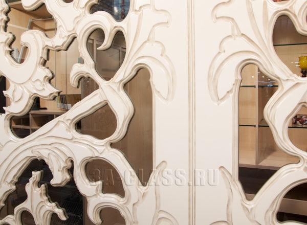 двери-купе в гардеробную на заказ по индивидуальным размерам в Москве от мебельного атлье ААА-Классика