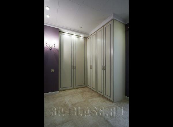 Элитный шкаф в прихожую на заказ по индивидуальным размерам в Москве от мебельного ателье ААА-Классика