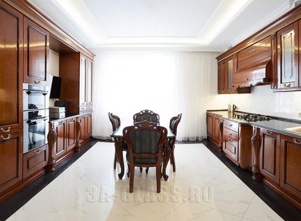 резная кухонная мебель