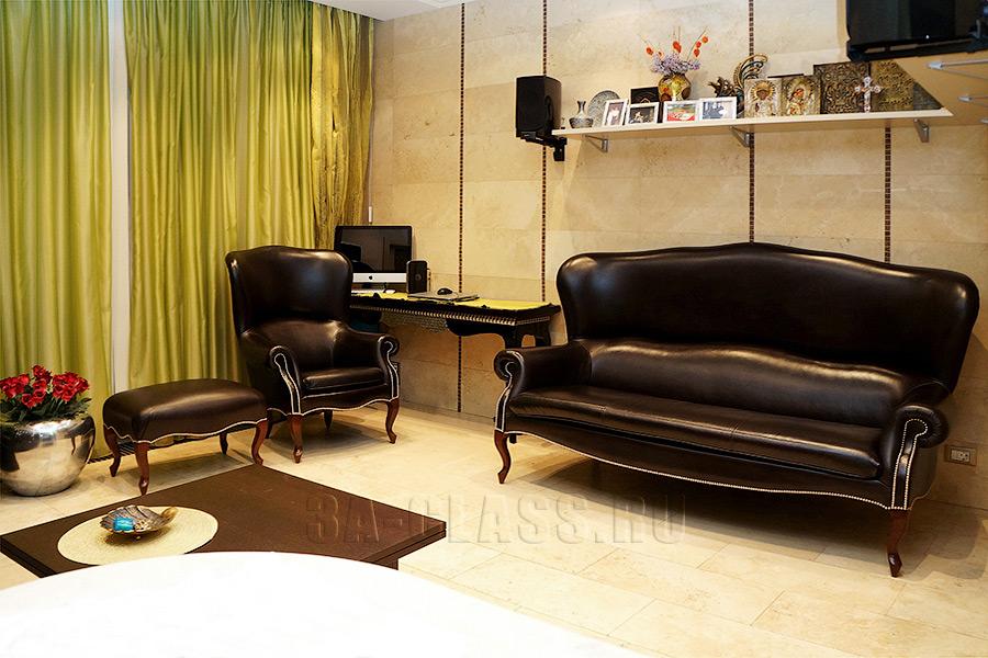 современный диван на заказ по индивидуальному размеру в Москве