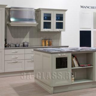 белая кухня Манчестер в английском стиле