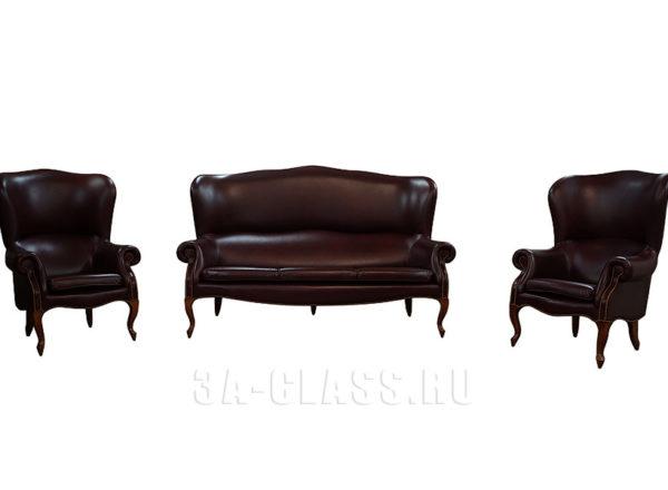 Мебельный гарнитур Согетто: мягкая мебель на заказ по индивидуальны размерам в Москве от мебельного ателье ААА-Классика