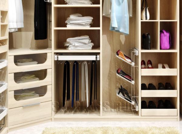 Многофункциональная мебель для гардеробной комнаты
