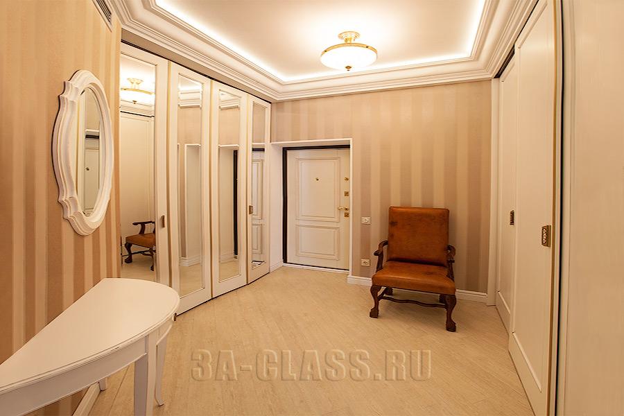 прихожая со шкафом-купе из мдф на заказ от мебельного ателье ААА-Классика в Москве