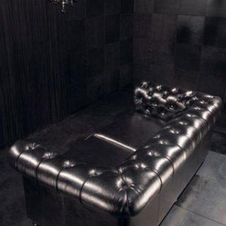 Кожаный диван Честерфилд chesterfield на заказ по индивидуальным размерам в Москве