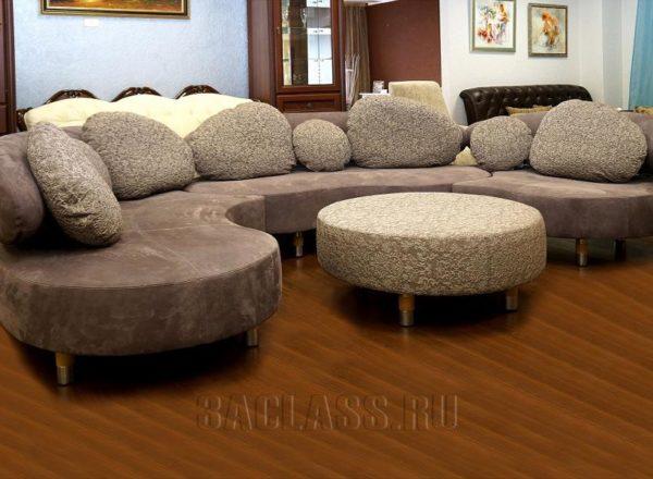 Модульный диван Монте Кристо на заказ по индивидуальным проектам в Москве