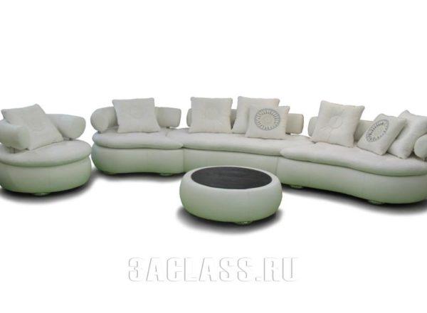 эркерный диван на заказ