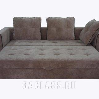 двухместный раскладной диван РИО по индивидуальным размерам на заказ в Москве