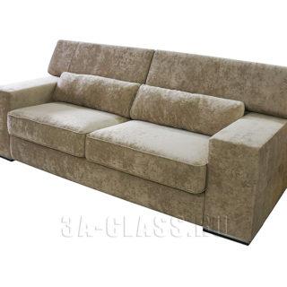 Диван с подушками Бостон на заказ по индивидуальным размерам от мебельного ателье ААА-Классика