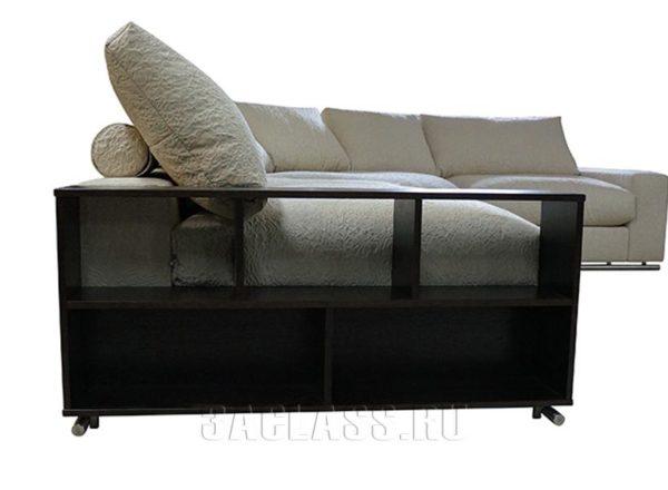 Модульный диван с полками Лас-Вегас на заказ по индивидуальным размерам
