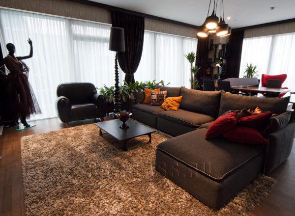 Дизайнерская гостиная