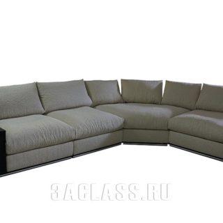 Угловой модульный диван Лас-Вегас в гостиную на заказ по индивидуальным размерам