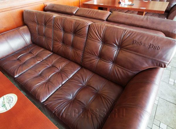 Идеальный диван в ресторан на заказ по индивидуальным размерам в Москве