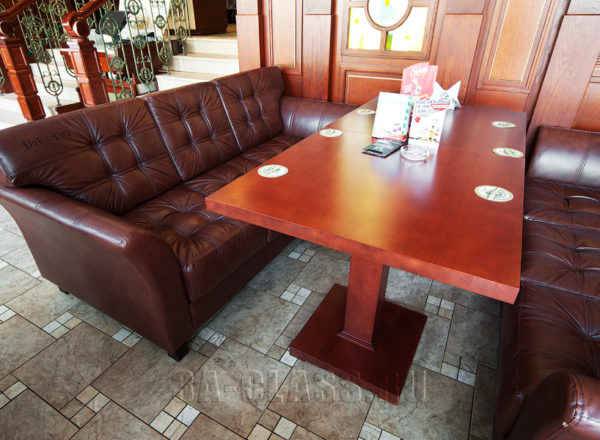 Качественная ресторанная мягкая мебель на заказ по индивидуальным размерам в Москве