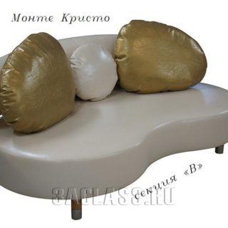 Компактный диван монте кристо на заказ по индивидуальным проектам в Москве