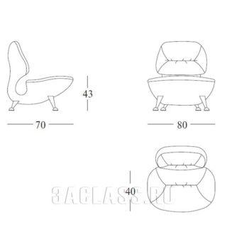 Кресло Белуччи схема