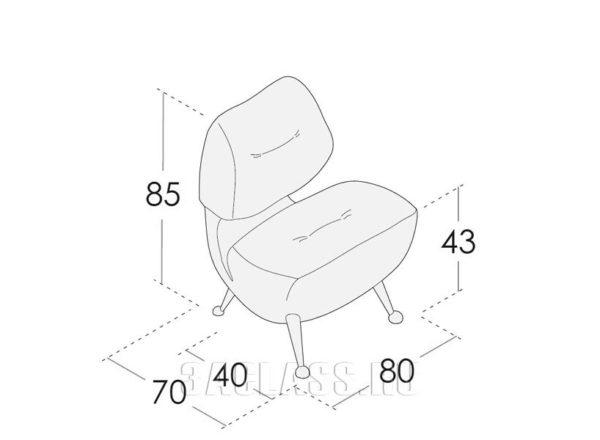 кресло Нея размеры