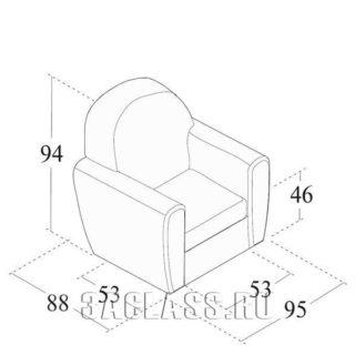 Кресло Рим габариты