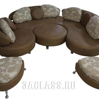Набор мягкой мебели Монте Кристо