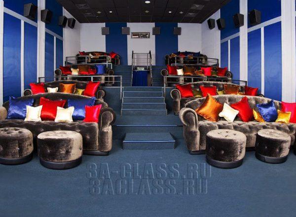 оригинальная мебель для кинотеатра