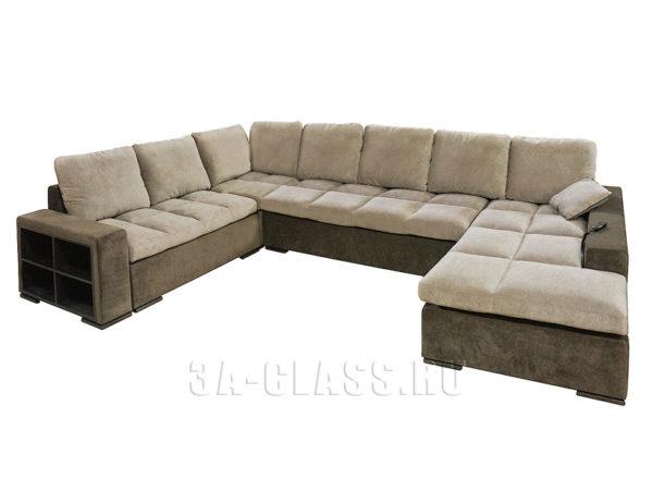 П-образный диван Амсетрдам на заказ по индивидуальным проектам в Москве