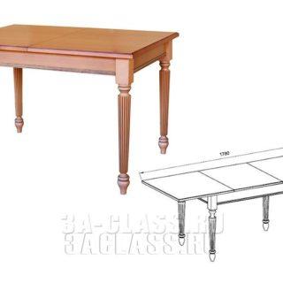 прямоугольный стол Ника