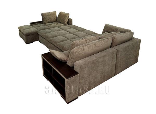 Разложенный угловой диван Амстердам на заказ по индивидуальным проектам