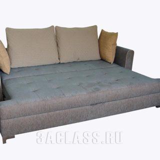 Разложенный двухместный диван РИО по индивидуальным размерам на заказ в Москве