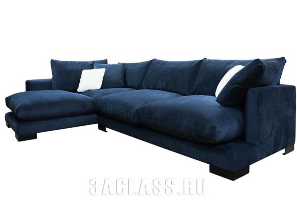 мягкая мебель: угловой диан Риальто на заказ по индивидуальному проекту в Москве от мебельного ателье ААА-Классика
