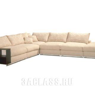 Модульный диван Лас-Вегас для гостиной в розовом цвете по индивидуальному заказу