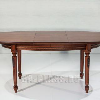 Широкий овальный стол Романтика