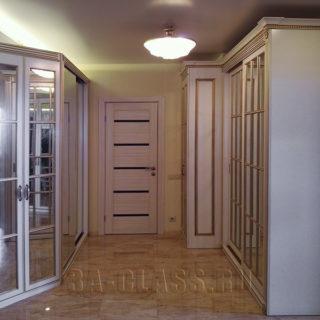 Шкафы для вещей с распашными и дверьми-купе