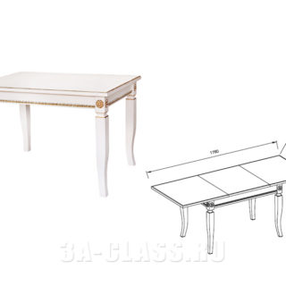 стол прямоугольный 'Афина оро'