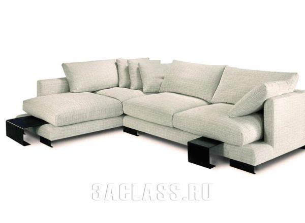 Угловой диван на заказ по индивидуальным размерам в Москве