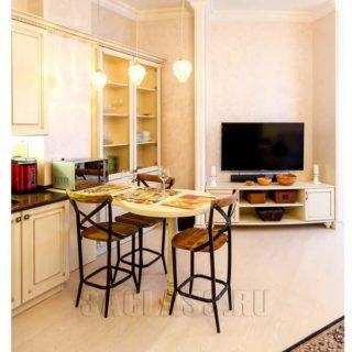Стол и стулья Донован в кухне