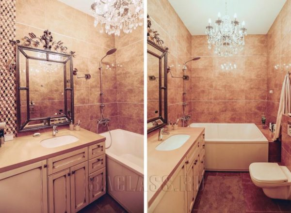 Ванная комната в викторианском стиле