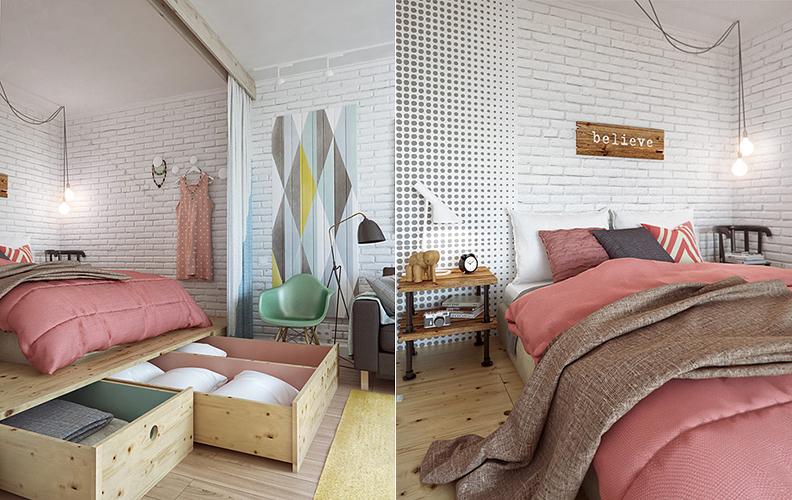универсальная спальня