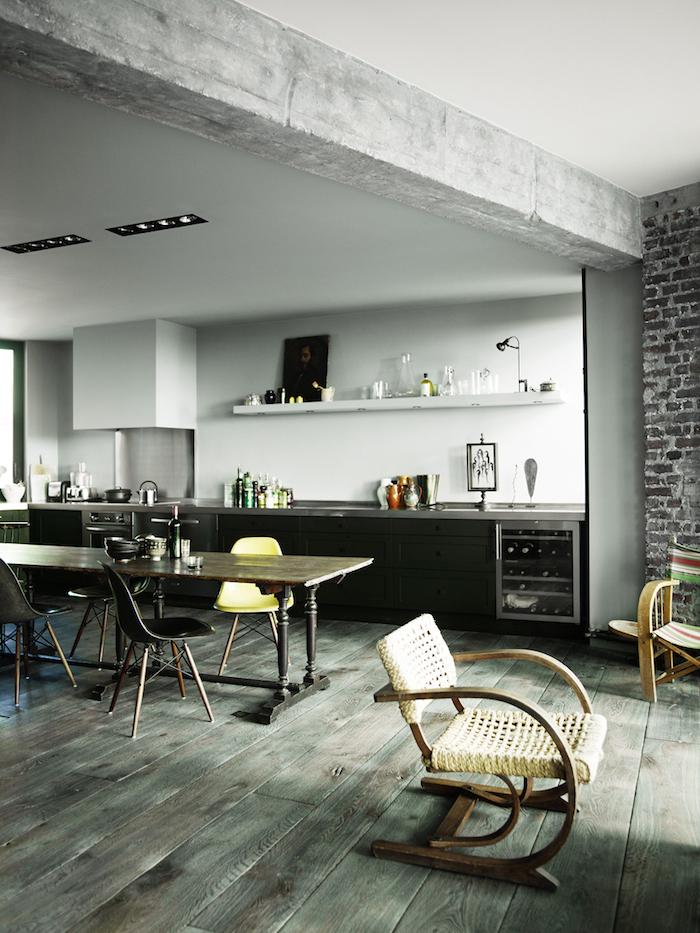 кухня в париже