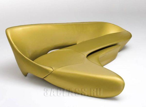Золотой диван Игуана