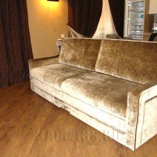 диван дельфин на заказ по индивидуальным проектам в Москве от мебельного ателье ААА-Классика