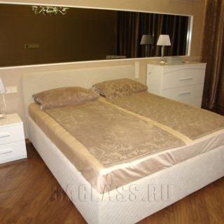 классическая кровать на заказ по индивидуальным проектам в Москве