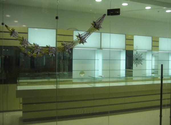 Дизайн мебели ювелирного магазина