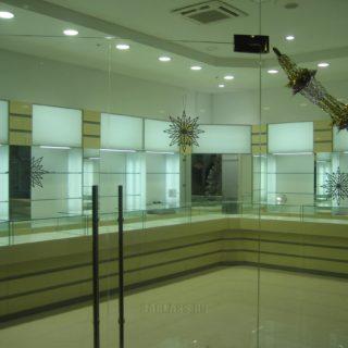 мебель в ювелирный магазин