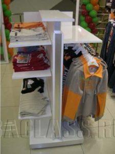 Торговая мебель для одежды