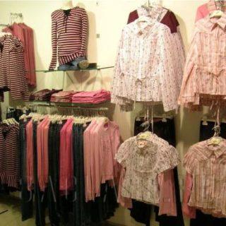 Вешала для одежды в магазин