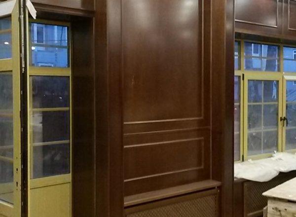 Элитная деревянная мебель в ресторан
